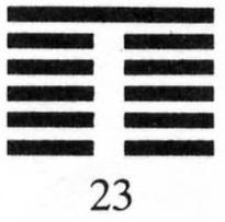 Hexagram 23