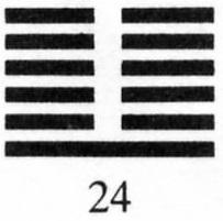 Hexagram 24