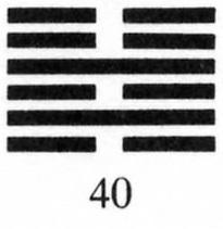 Hexagram #40