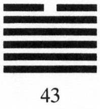 Hexagram #43