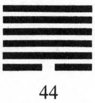 Hexagram 44