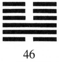 Hexagram 46