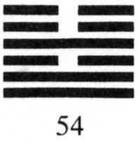 Hexagram 54