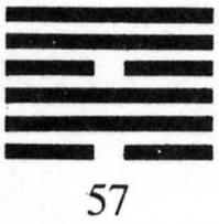 Hexagram 57