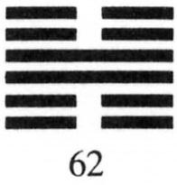 Hexagram 62
